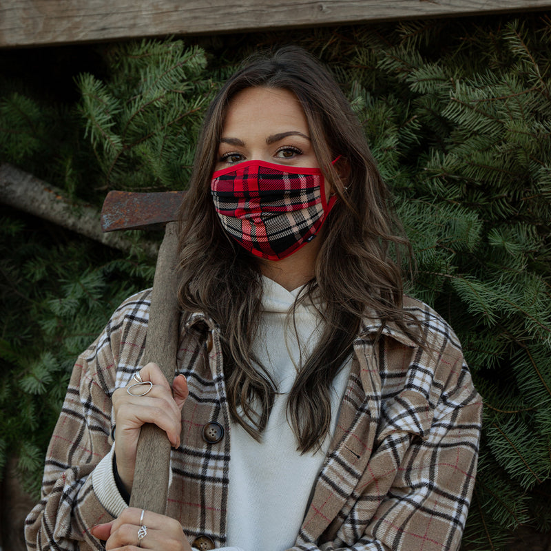 Plaid Face Mask - Made in PDX