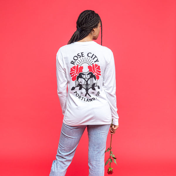 Cloud Roses Long Sleeve