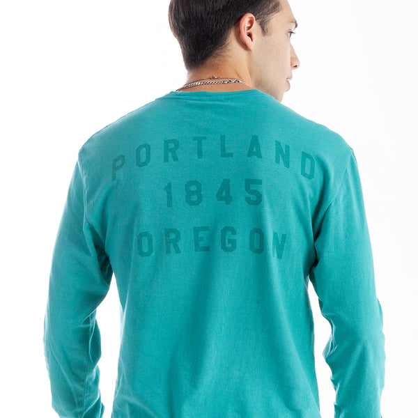 "Ocean ""P"" Long Sleeve"
