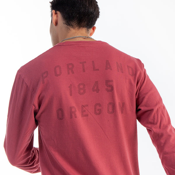 "Red Rock ""P"" Long Sleeve"