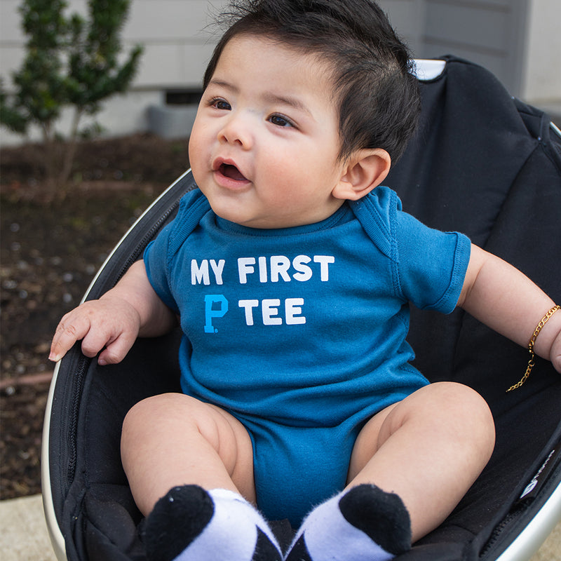"Indigo My First ""P"" Tee Onesie"