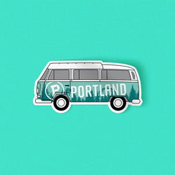 Bus Sticker - Portland Gear