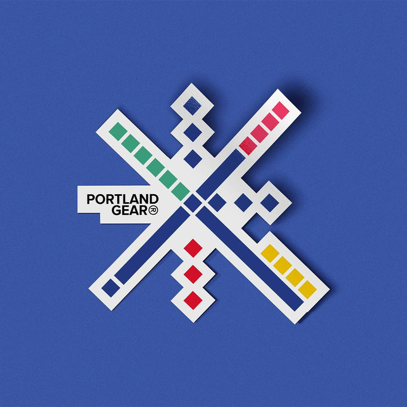 PDX Carpet Star Sticker - Portland Gear