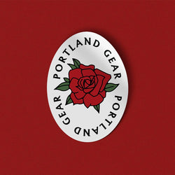Ring Around The Roses Sticker - Portland Gear