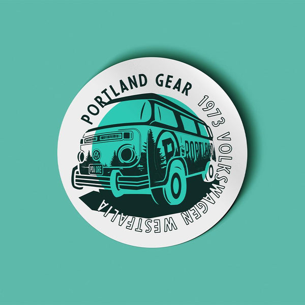 Westfalia Sticker - Portland Gear