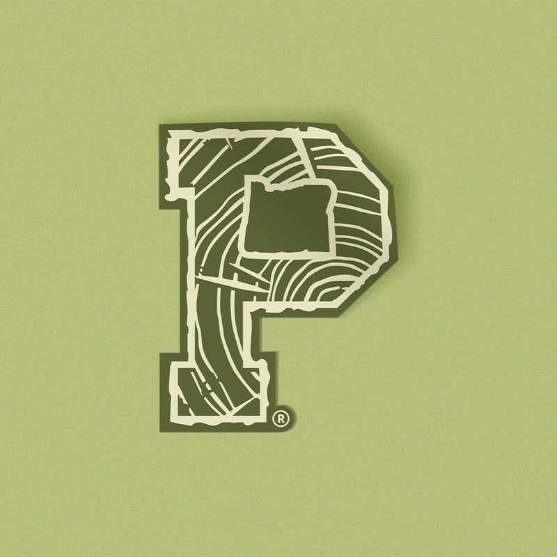 "Stump ""P"" Sticker - Portland Gear"