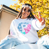 Peace and Love Crewneck