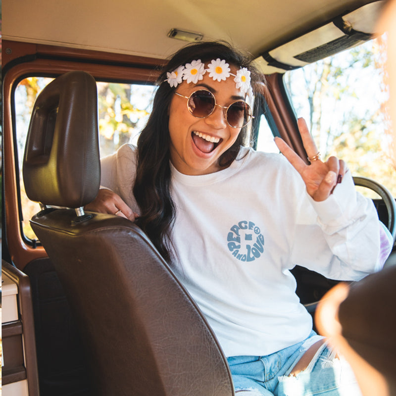 Peace and Love Long Sleeve