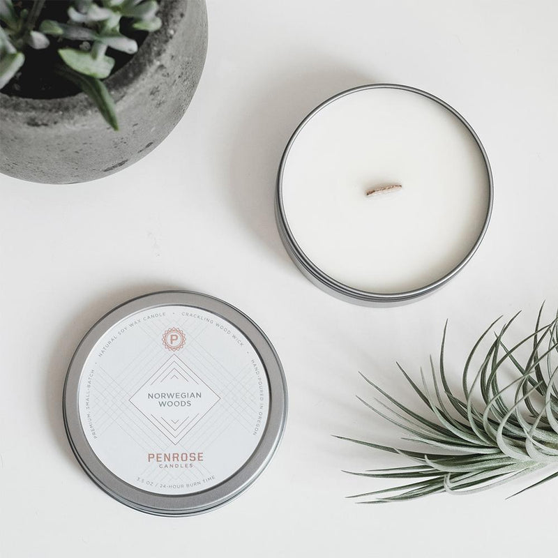 Penrose Candle - Norwegian Woods - Portland Gear