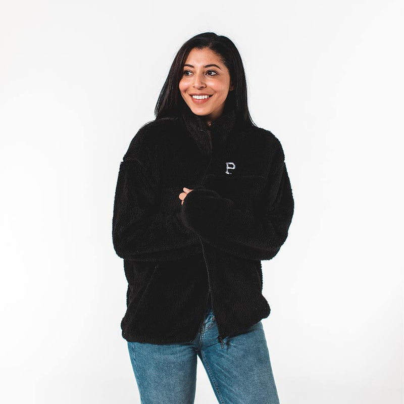 Black Sherpa Lounger