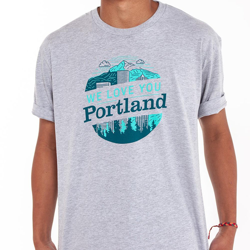 We Love You Portland Tee - Alex Burch