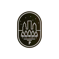 City Limits Oval Sticker - Portland Gear