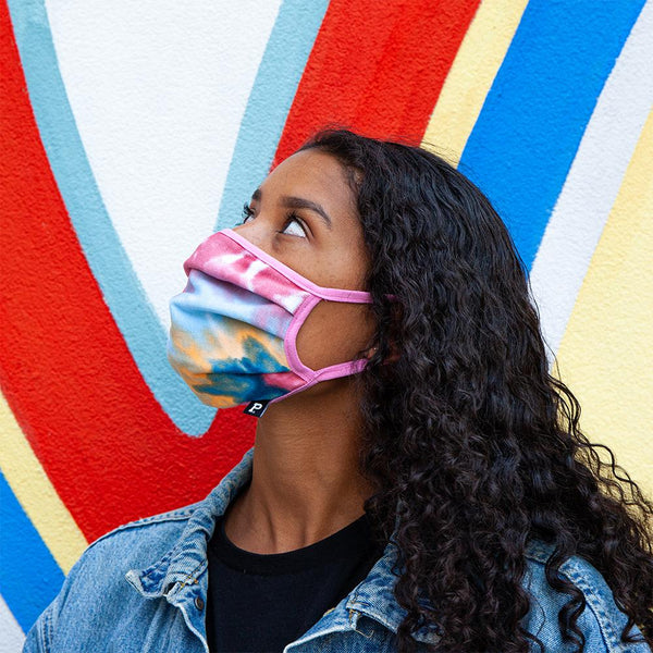 Tie Dye Mask V2 - Made in PDX - Portland Gear