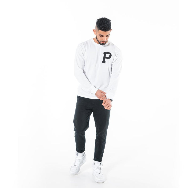 "Long Sleeve ""P"" Tee - Portland Gear"