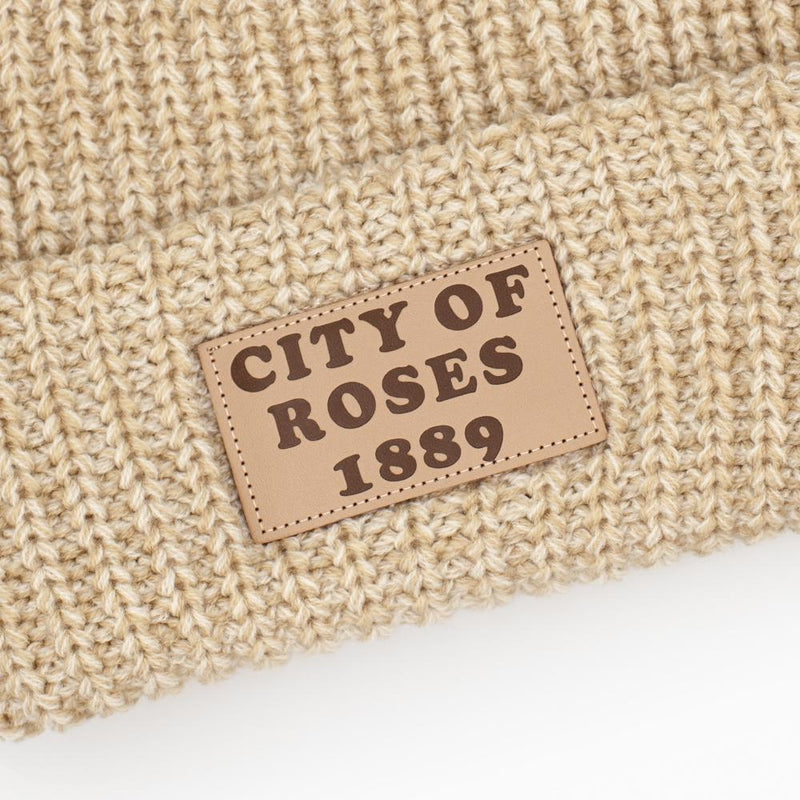 City of Roses Knitted Beanie