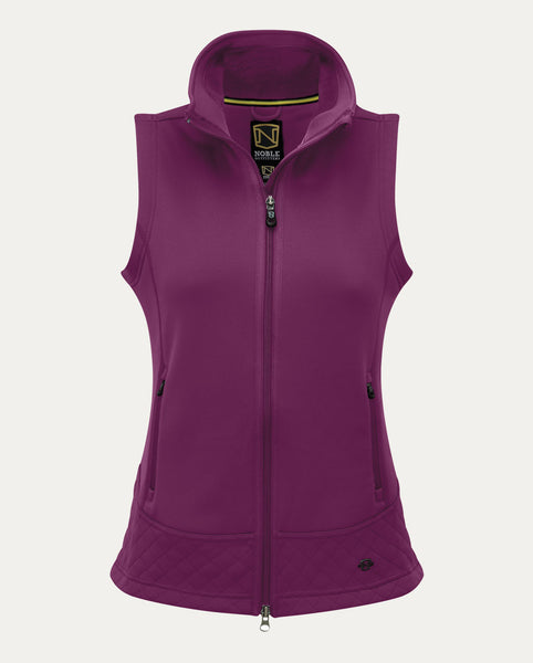 Premier Fleece Vest in Violet