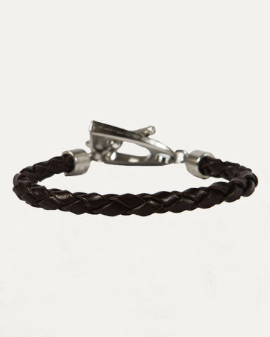In The Stirrup Bracelet in Antique Brown