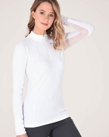 Ashley Performance Long Sleeve in White