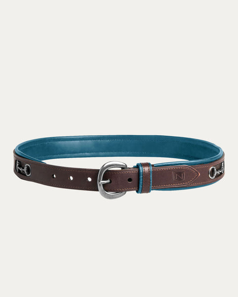 On The Bit Belt in Deep Turquoise