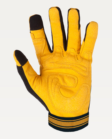 Outrider Glove in Black & Tan