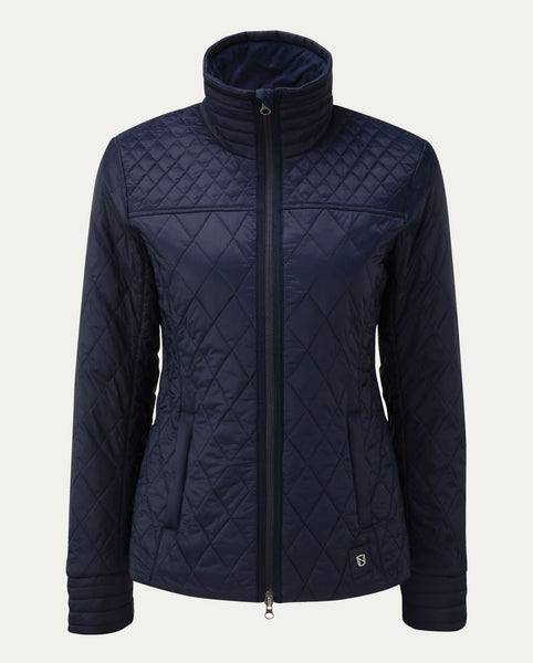 Warmup Quilted Jacket in Dark Navy
