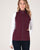 Women's All Around Vest in Wine