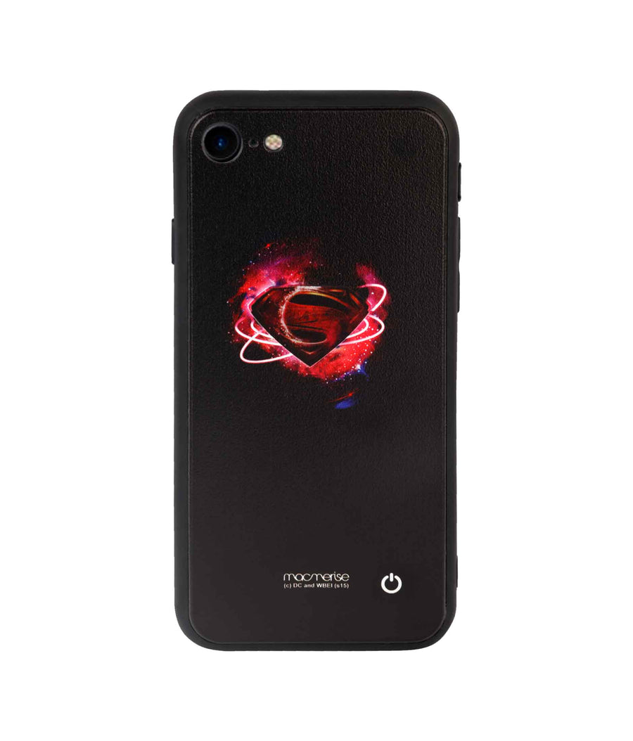 Superman Supremacy - Lumous LED Case for iPhone 8