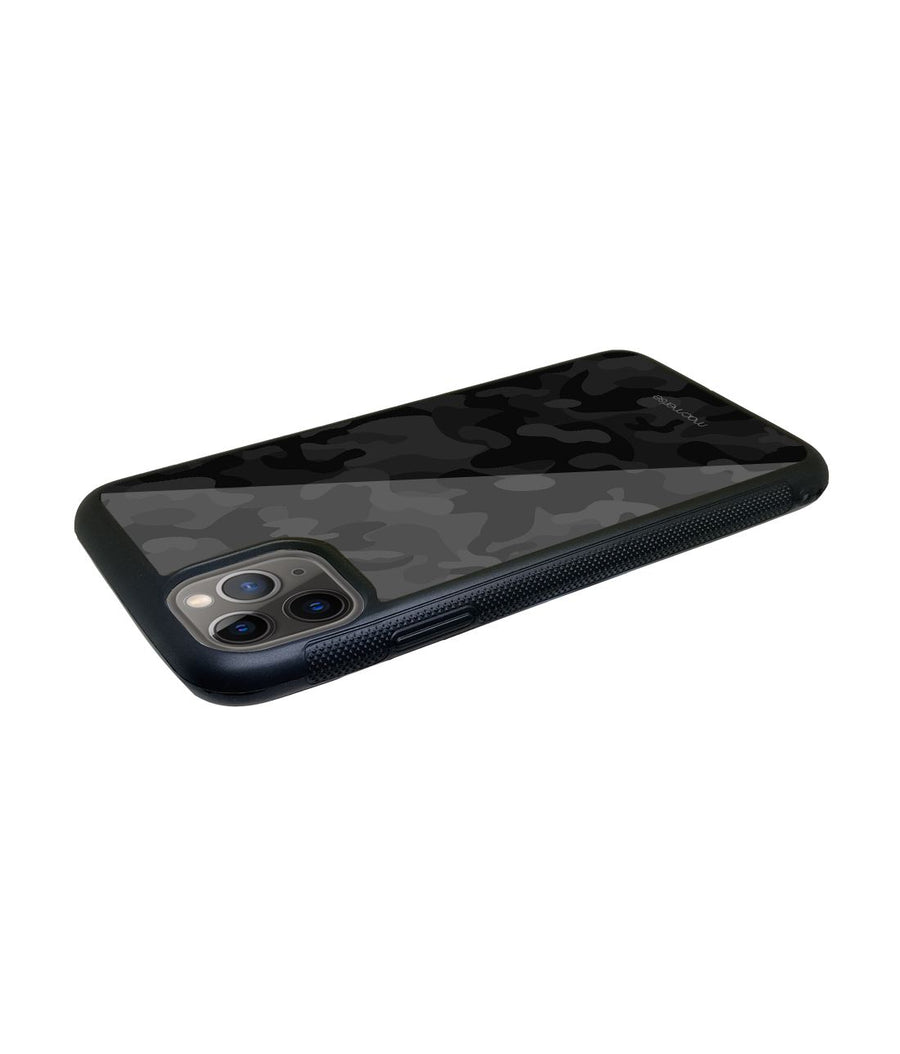 Camo Black - Glass Case for iPhone 11 Pro Max