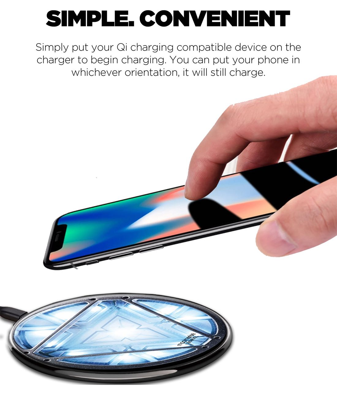Ironman Arc Reactor Qi Compatible Pro Wireless Charger