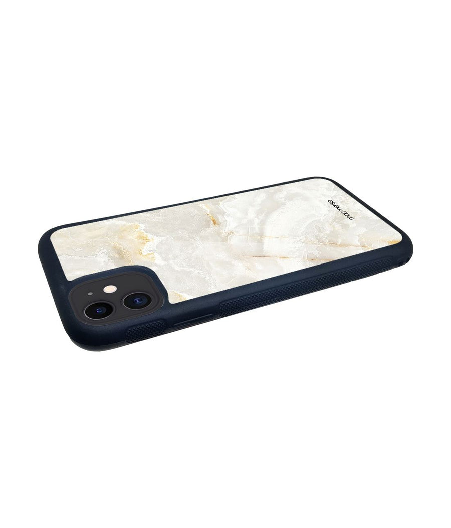 Marble Creama Marfil - Glass Case for iPhone 11