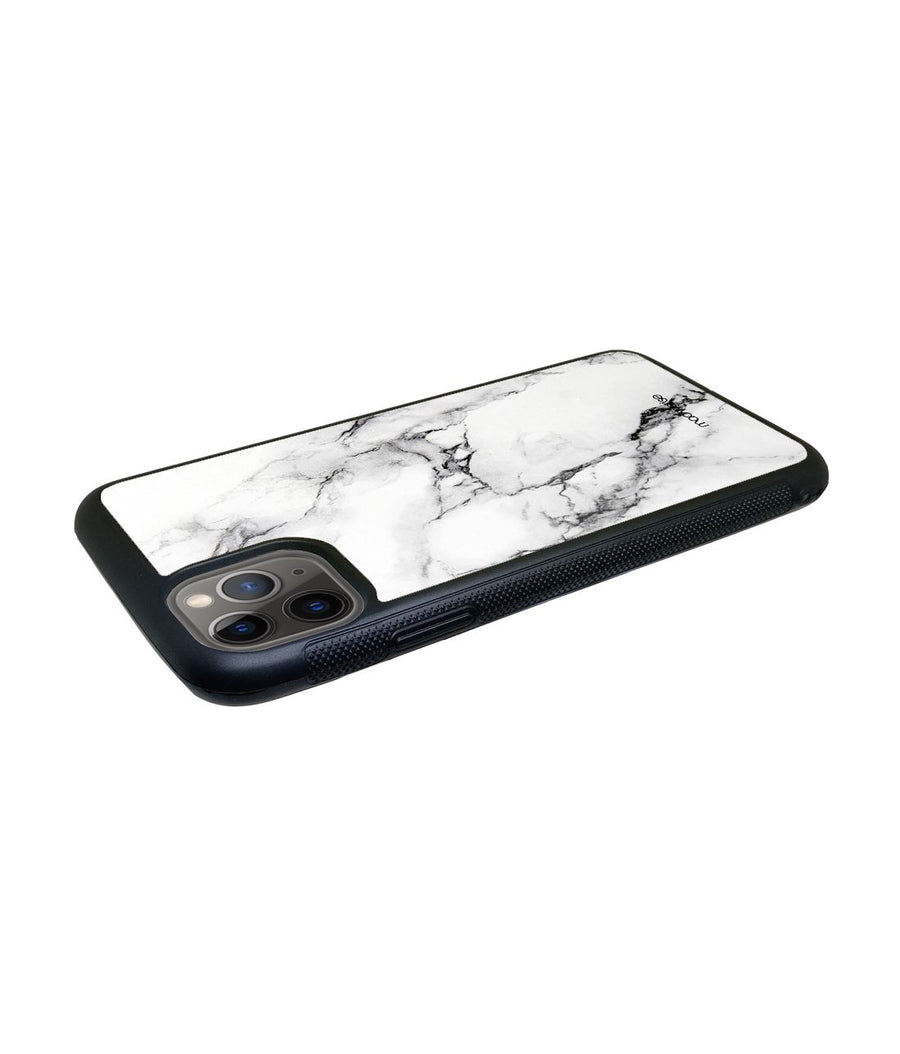 Marble White Luna - Glass Case for iPhone 11 Pro Max
