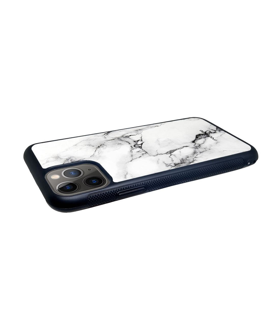 Marble White Luna - Glass Case for iPhone 11 Pro