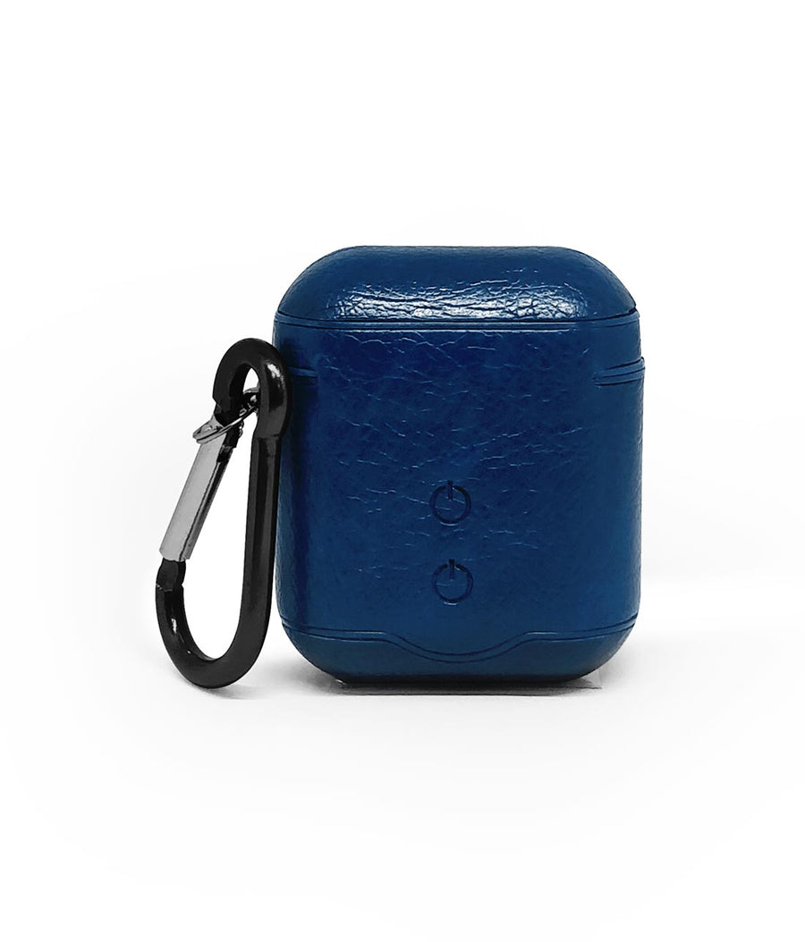 Leather Case Blue -  Airpod Case