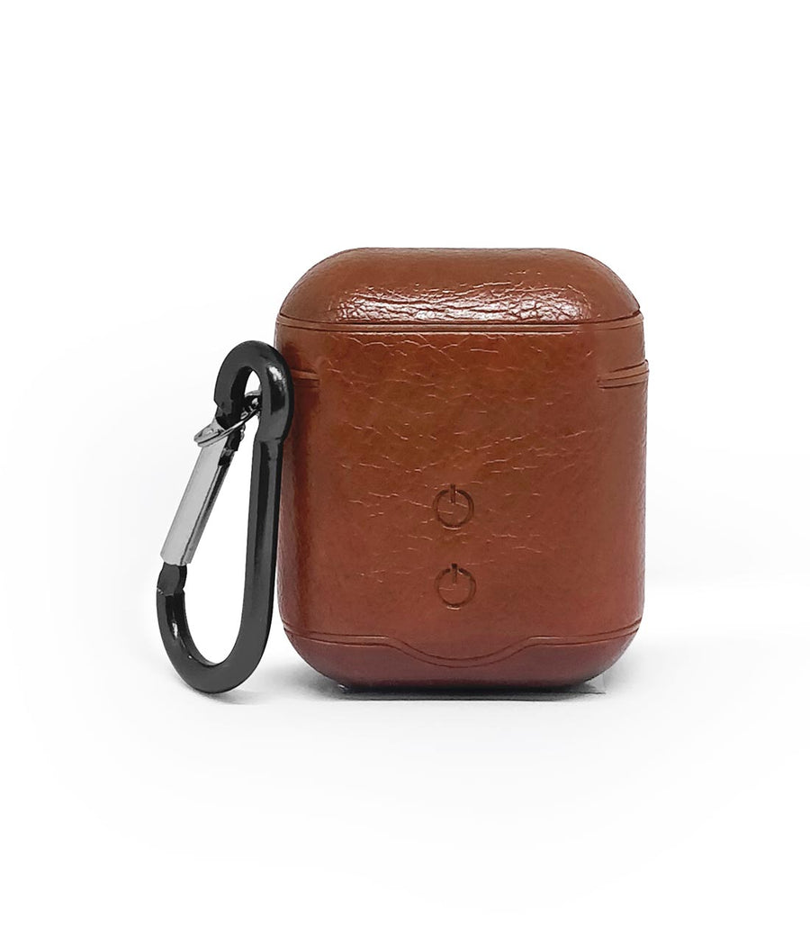 Leather Case Tan Brown -  Airpod Case