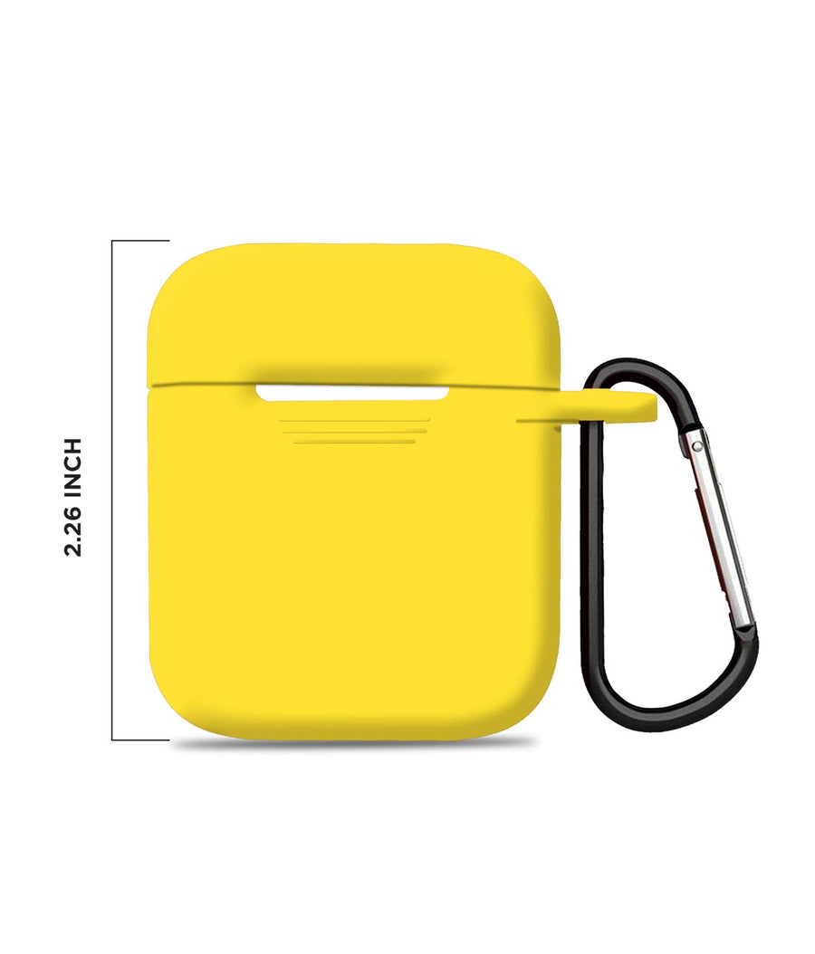 Silicone Case Yellow - Airpod Case