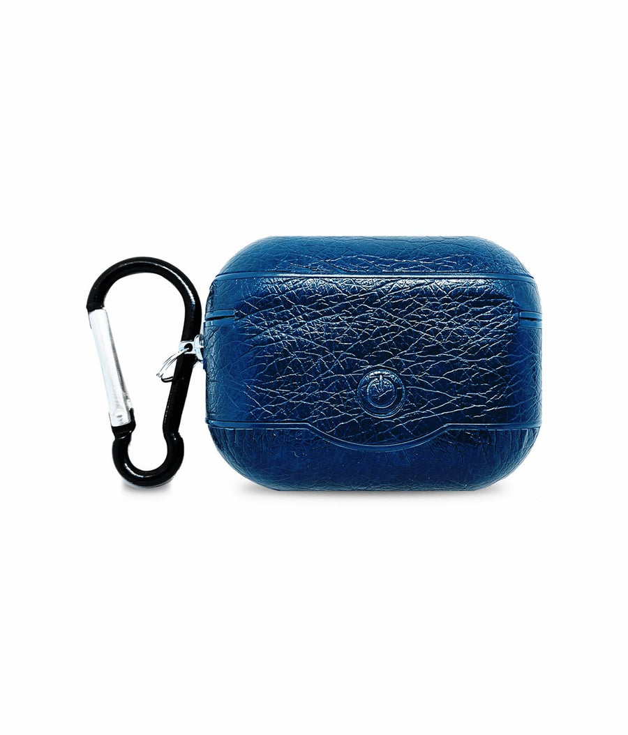 Leather Case Blue -  Airpod Pro Case
