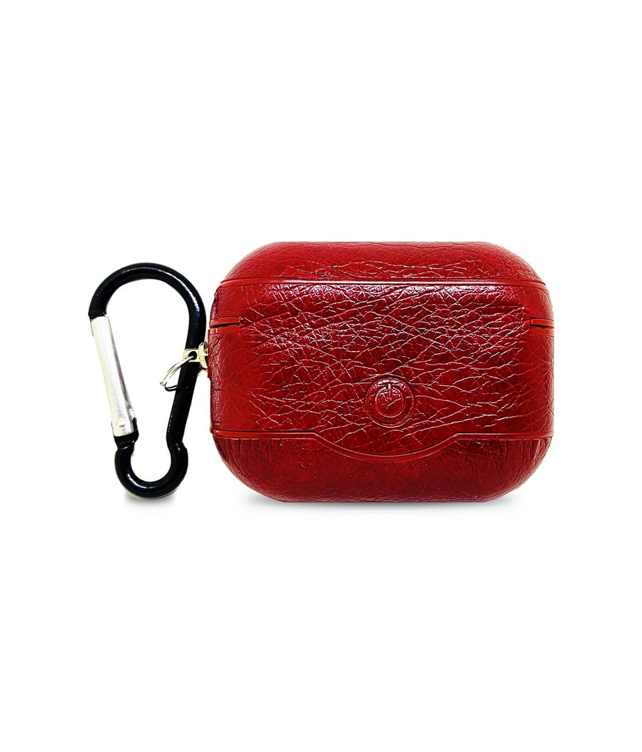 Leather Case Red -  Airpod Pro Case