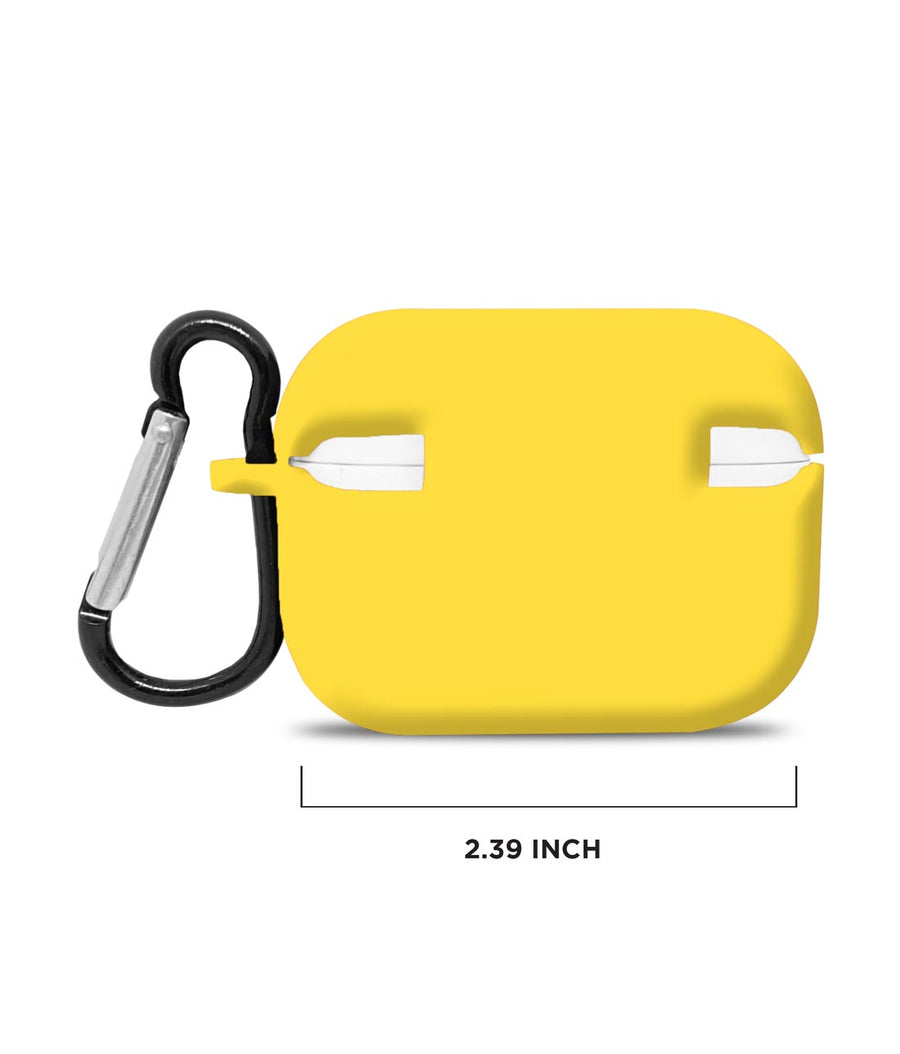 Silicone Case Yellow - Airpod Pro Case