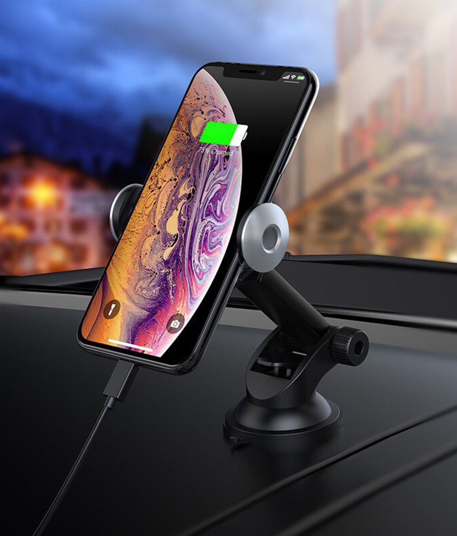 Macmerise Autobot Pro - Automatic Car mount Wireless Charger