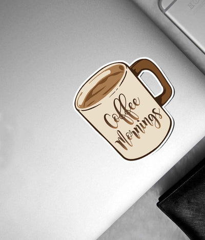 Coffee Mornings - Stickon Small