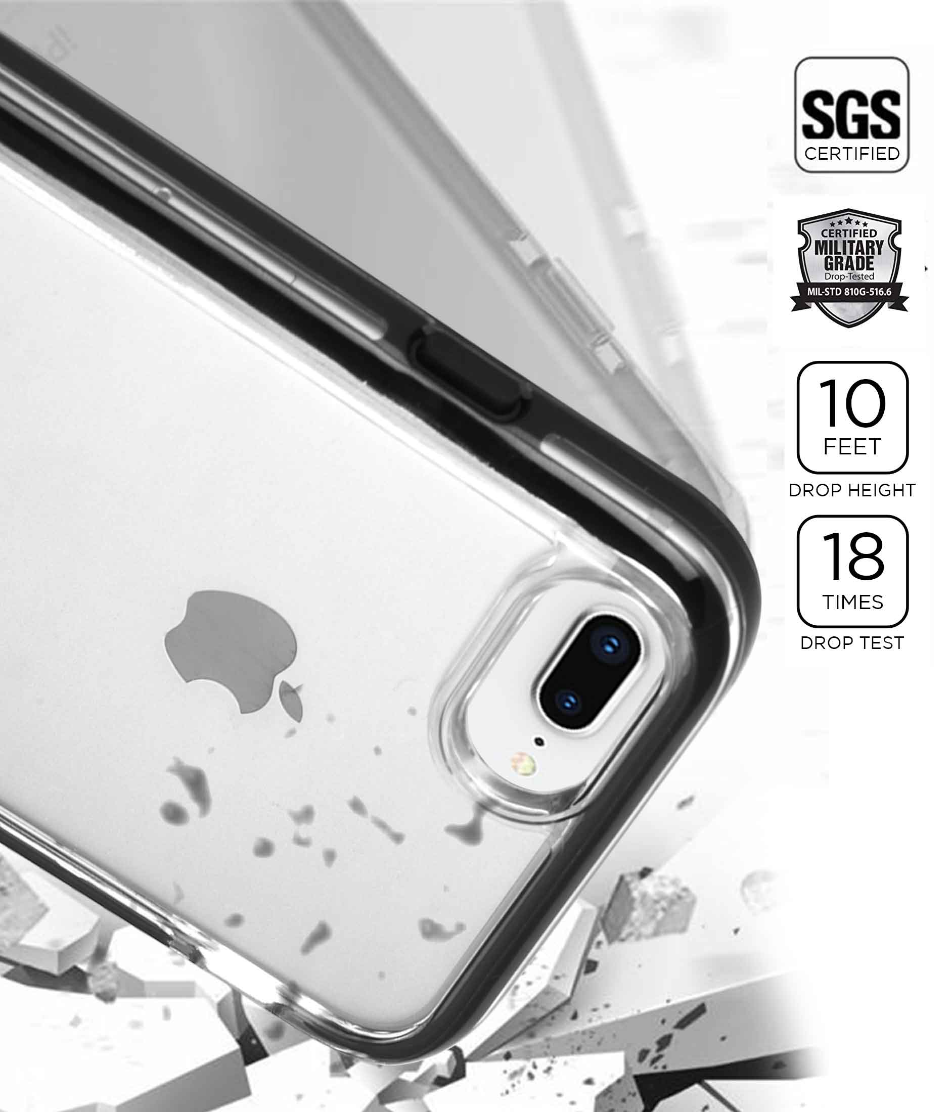 Dont kill my Vibe - Extreme Case for iPhone 8 Plus