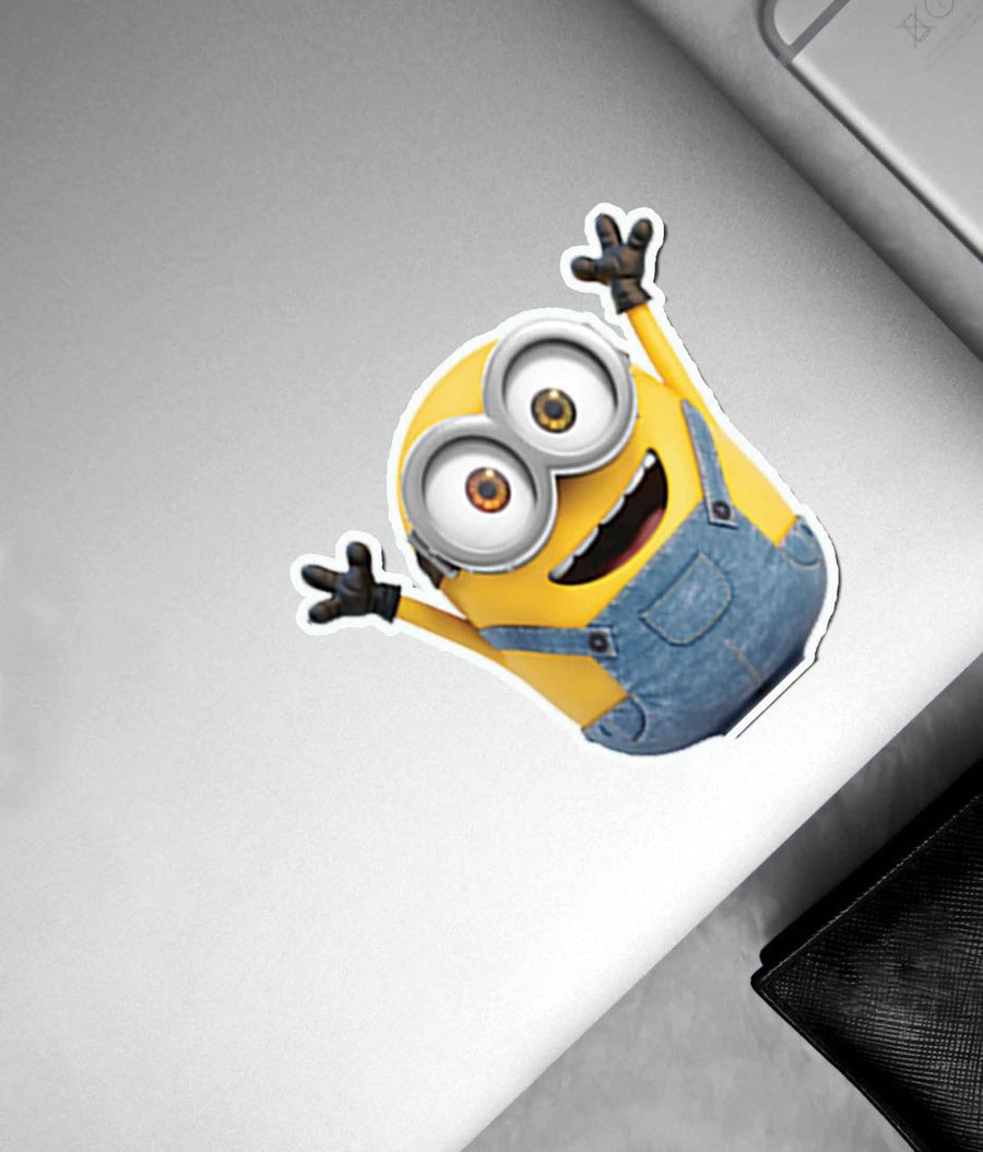Hola Denim Minion - Stickon Small