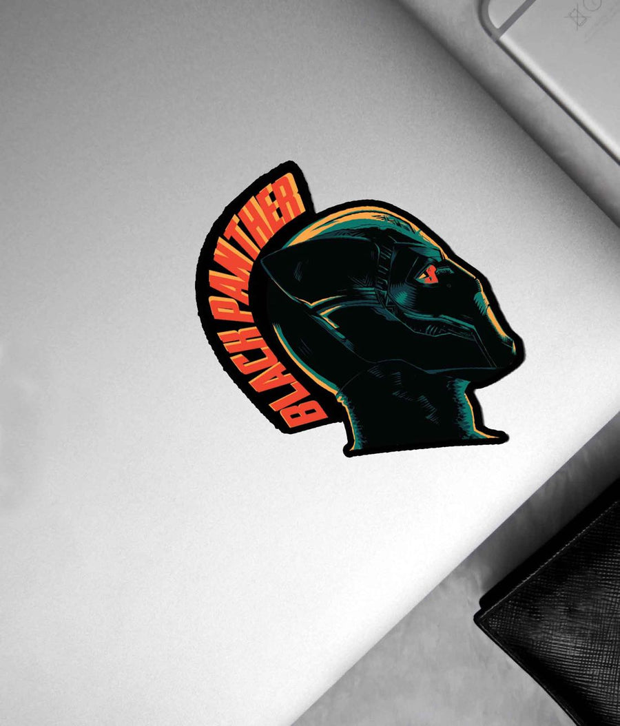 Illuminated Black Panther - Stickon Small