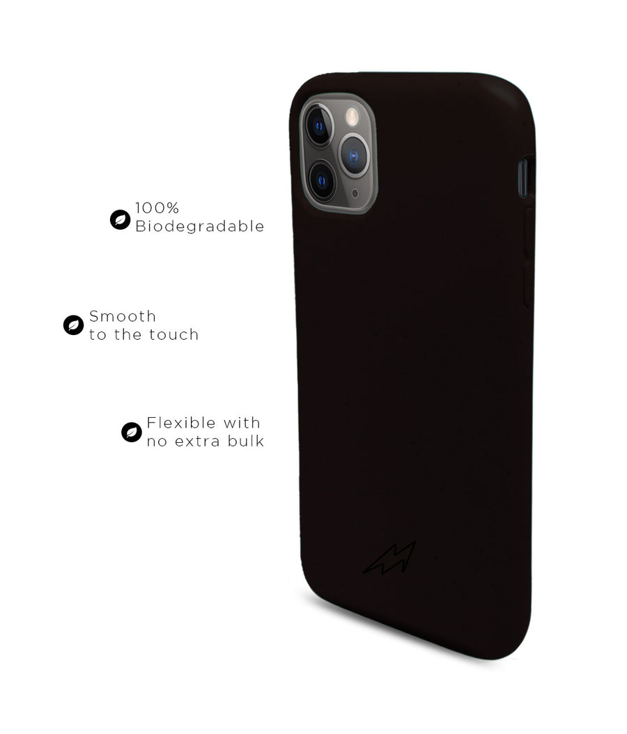 Bold Black - Eco-ver for iPhone 11 Pro Max