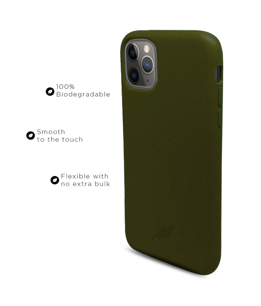 Olive Green - Eco-ver for iPhone 11 Pro Max