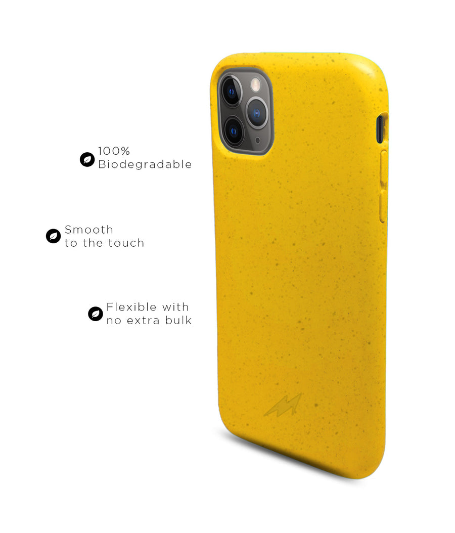 Pineapple Yellow - Eco-ver for iPhone 11 Pro Max
