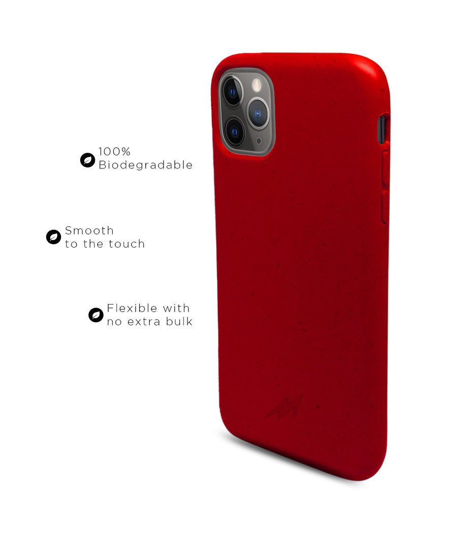 Crimson Red - Eco-ver for iPhone 11 Pro