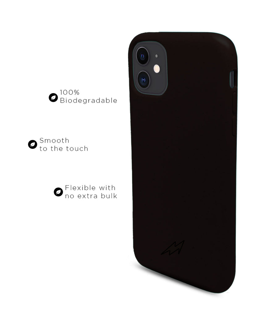 Bold Black - Eco-ver for iPhone 11