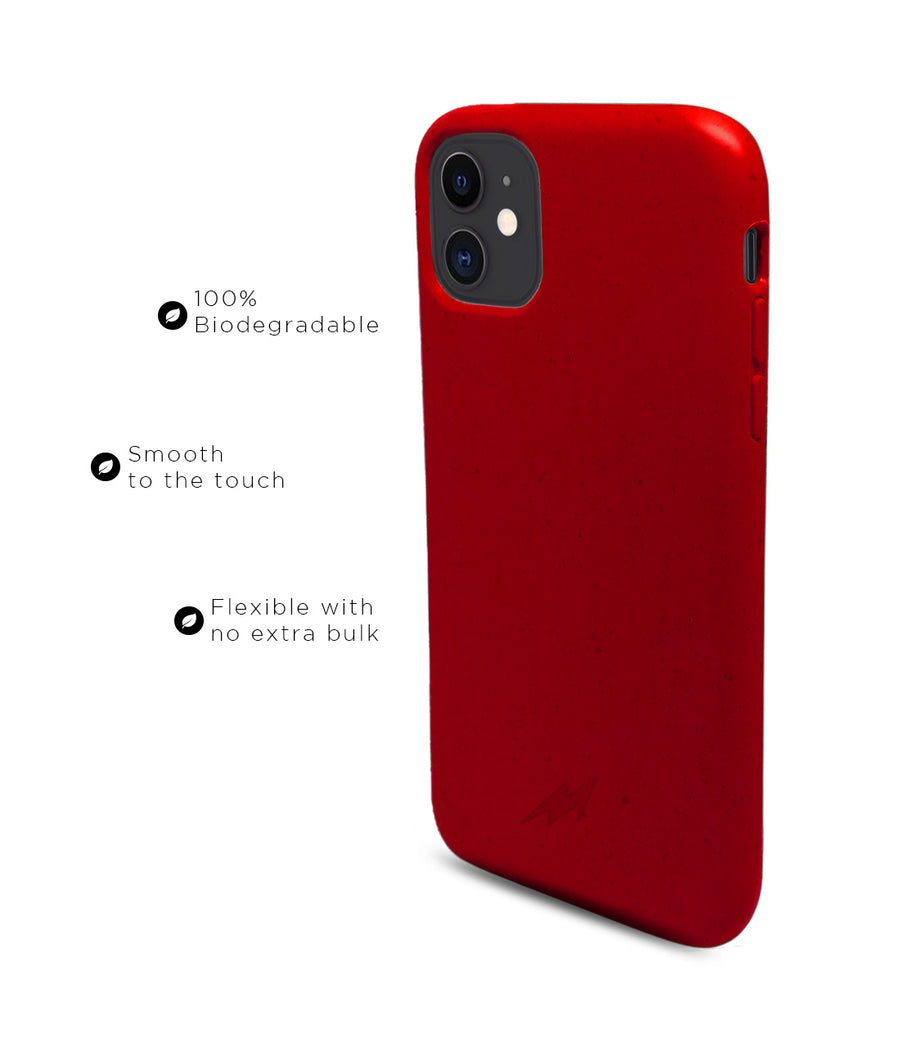 Crimson Red - Eco-ver for iPhone 11