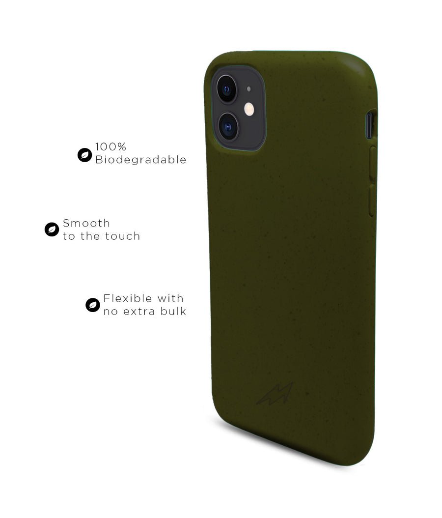 Olive Green - Eco-ver for iPhone 11
